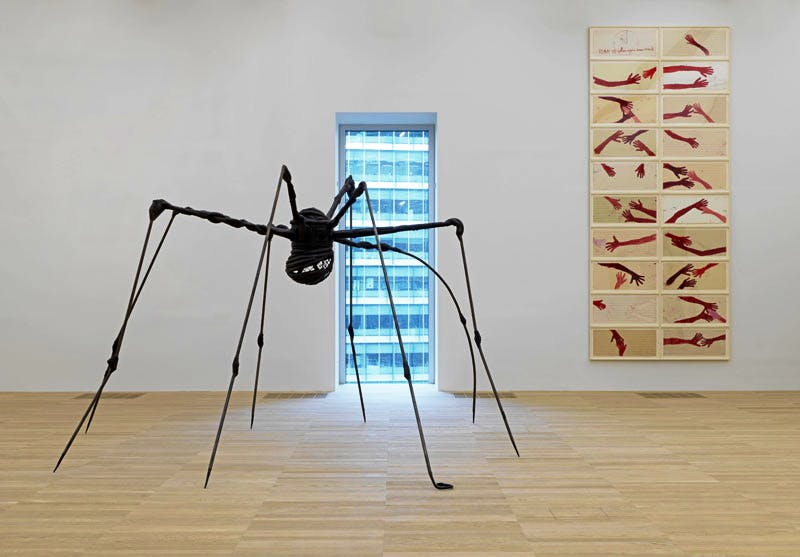 Installation view of Artist Rooms: Louise Bourgeois