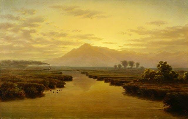Mount Tamalpais from Napa Slough