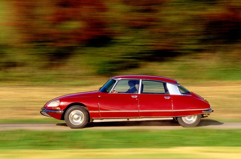 The Citroën DS, which was launched in 1955. Getty Images