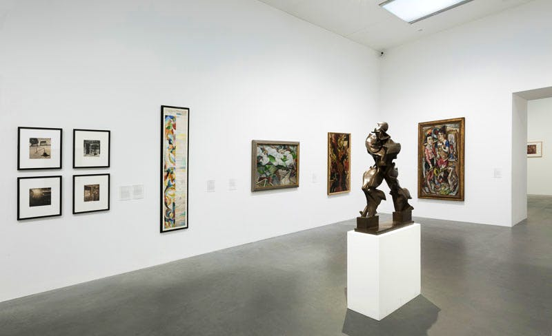 Installation view of Modern Times.