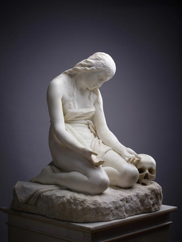 epentant Mary Magdalene (1808–09), Antonio Canova.