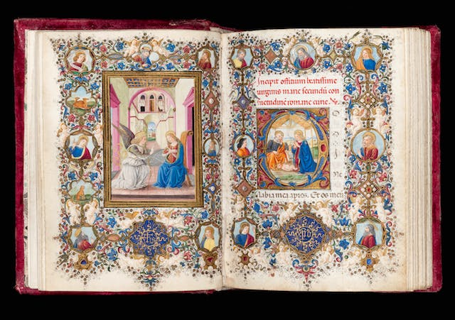 Book of Hours illuminated by Vante di Gabriello di Vante Attavanti