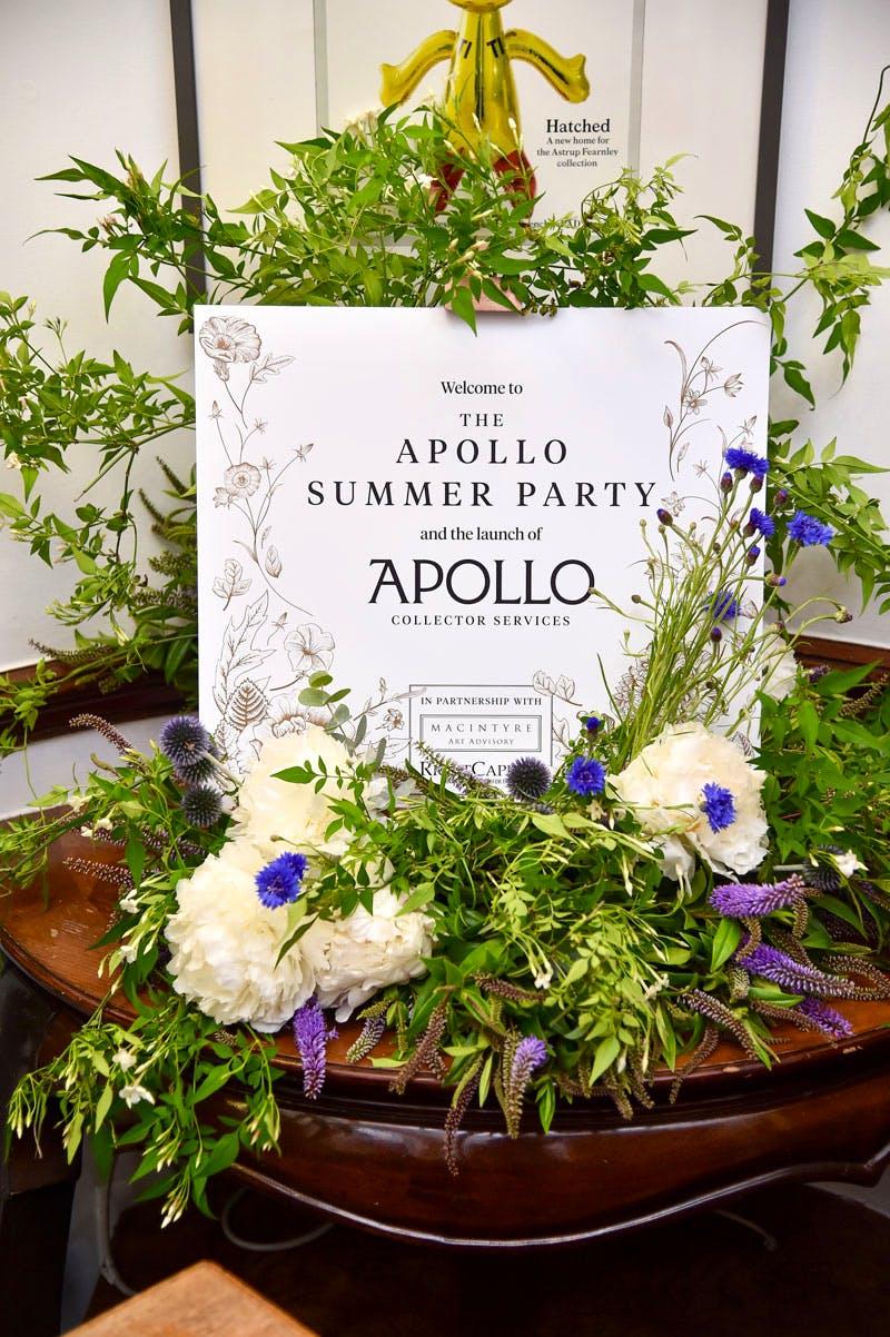 The Apollo summer party 2016.
