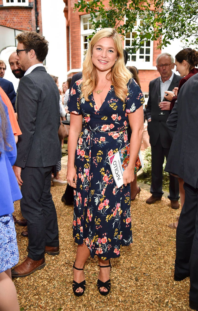 Kate Bryan at the Apollo summer party 2016
