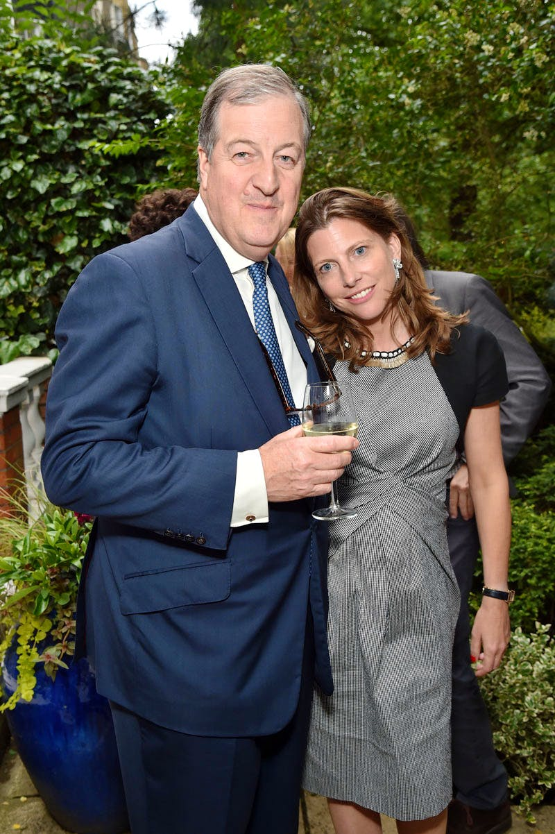 Richard Knight and Helen Macintyre at the Apollo summer party 2016.