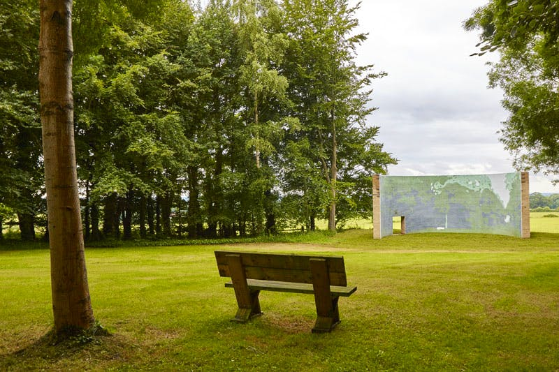 Panorama 2 (2016), Wang Wei. Photo: Barney Hindle, 2016 © Cass Sculpture Foundation