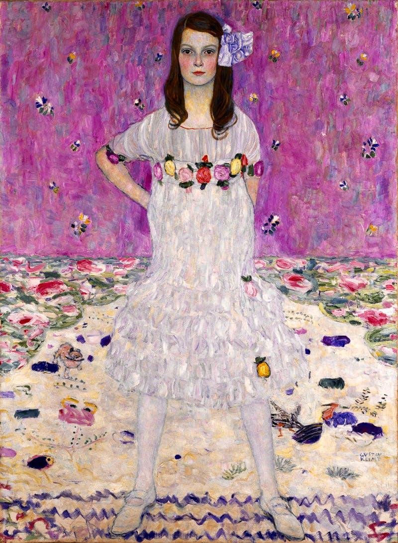 (1912), Gustav Klimt, Portrait of Mäda Primavesi