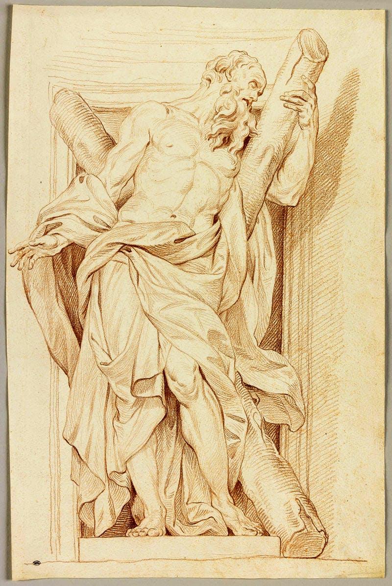 Saint André d'après Rusconi