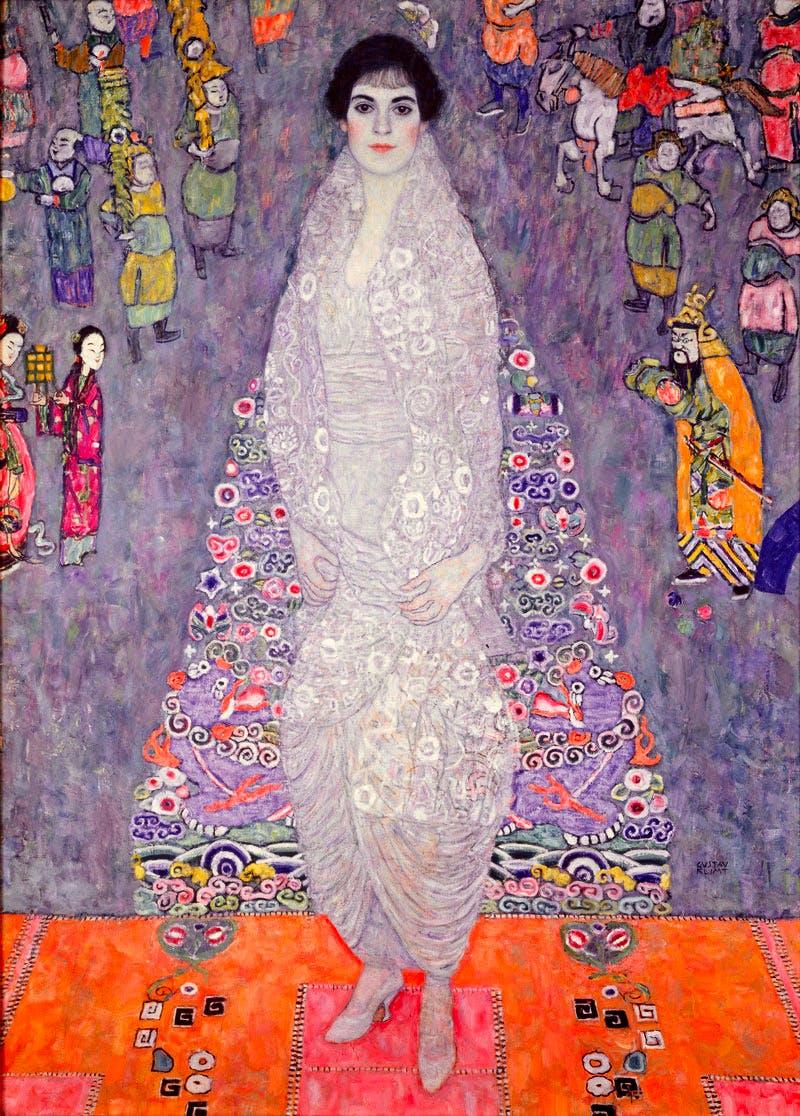 (1914-16), Gustav Klimt, Portrait of Elisabeth Lederer.