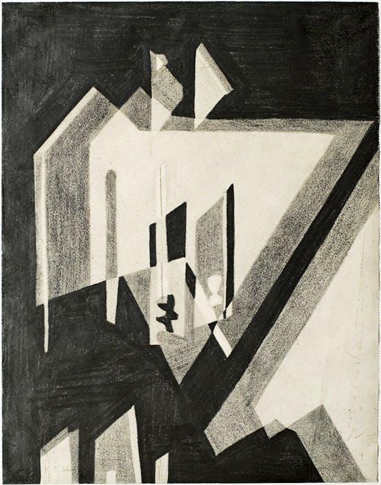 Sem titulo (1952), Lygia Clark