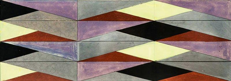 Superficie Modulada (1956), Lygia Clark.