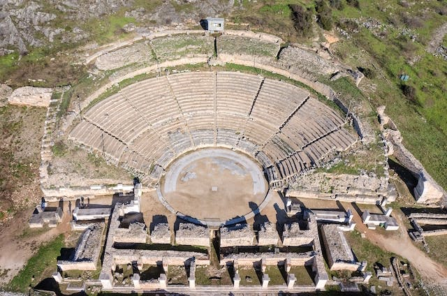Archaeological Site of Philippi: The Theatre
