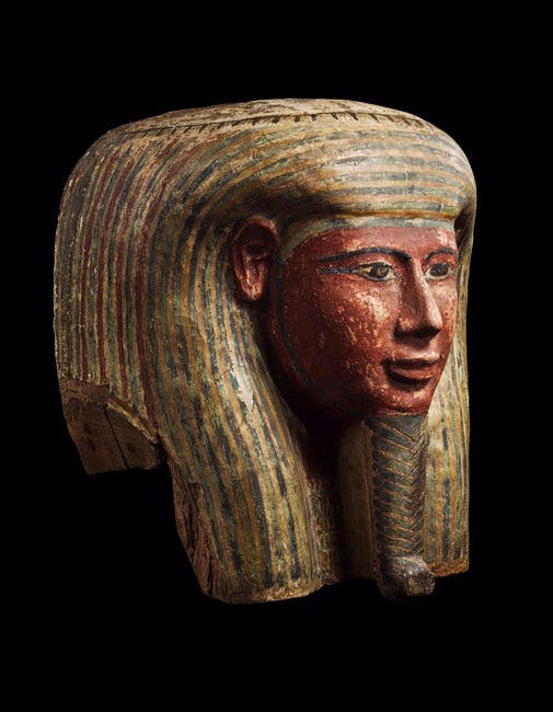 Mummy Mask from Western Thebes (c. 760–525). Courtesy of Ariadne Galleries