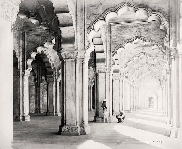 Agra, The interiors of the Moti Masjid