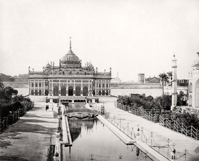 Lucknow, The Hussainabad Imambara of Muhammad Ali Shah