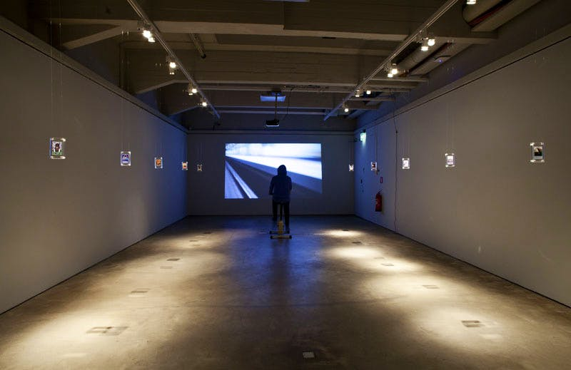 Bad Gateways, installation view in the Helsinki Art Museum. Photo: Sauli Sirviö