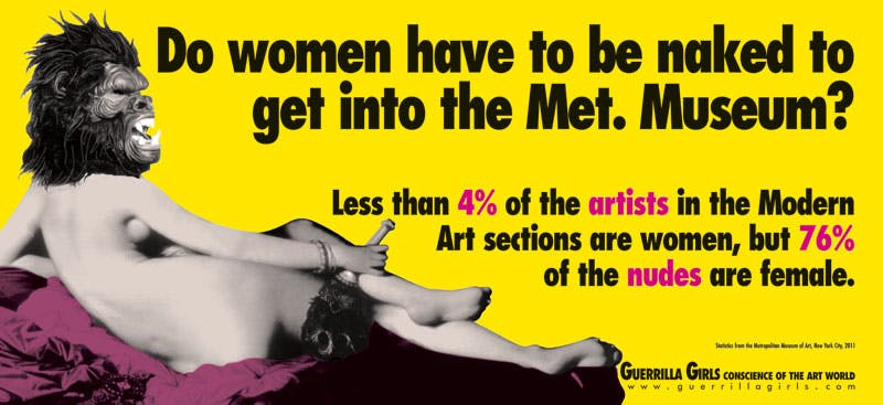 (2012), Guerrilla Girls