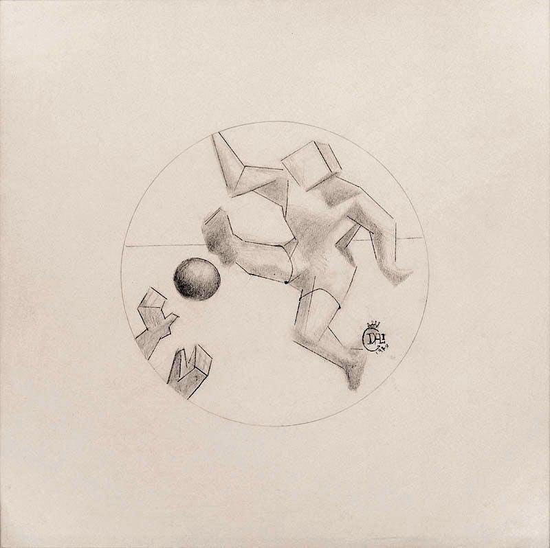Futbol (1979), Salvador Dali