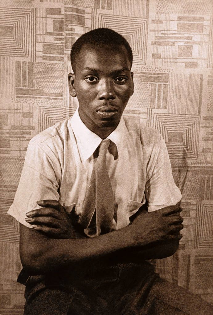 Jacob Lawrence, from the portfolio O Write My Name: American Portraits, Harlem Heroes