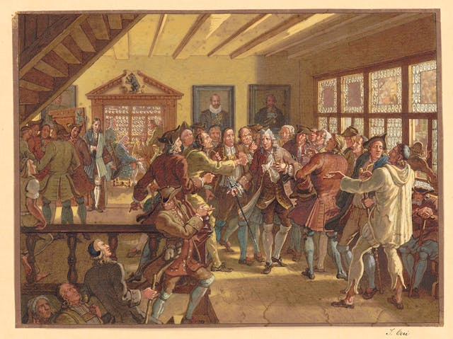 The Dispute between the Zellwegers and Wetters from Herisau