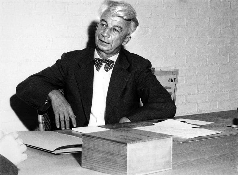 Willem Sandberg in 1955