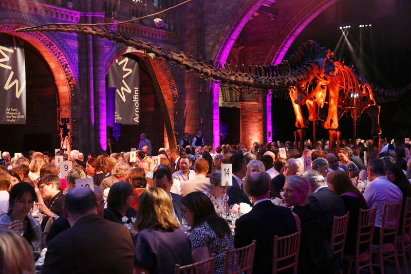 The Art Fund Museum of the Year Award was announced at a ceremony at the Natural History Museum, London.