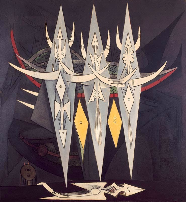 The Threshold, (1950), Wifredo Lam