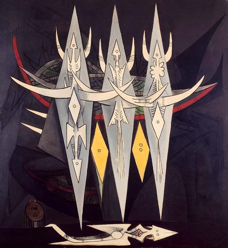 The Threshold, (1950), Wifredo Lam