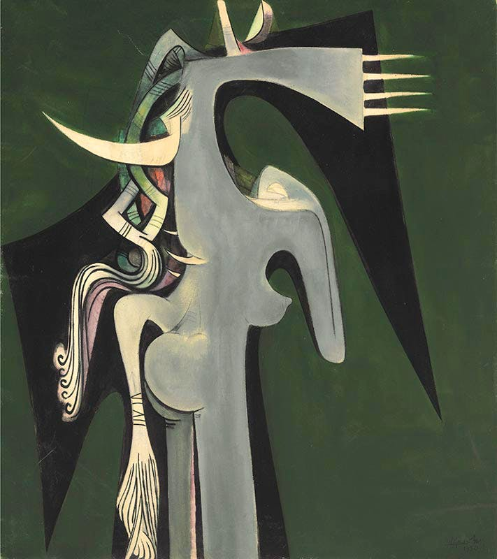 Horse-Headed Woman, Wifredo Lam.