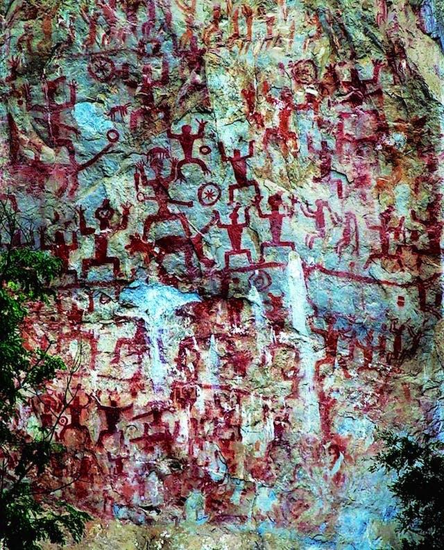 Zuojiang Huashan Rock Art Cultural Landscape: Part of Ningming Huashan Rock Art