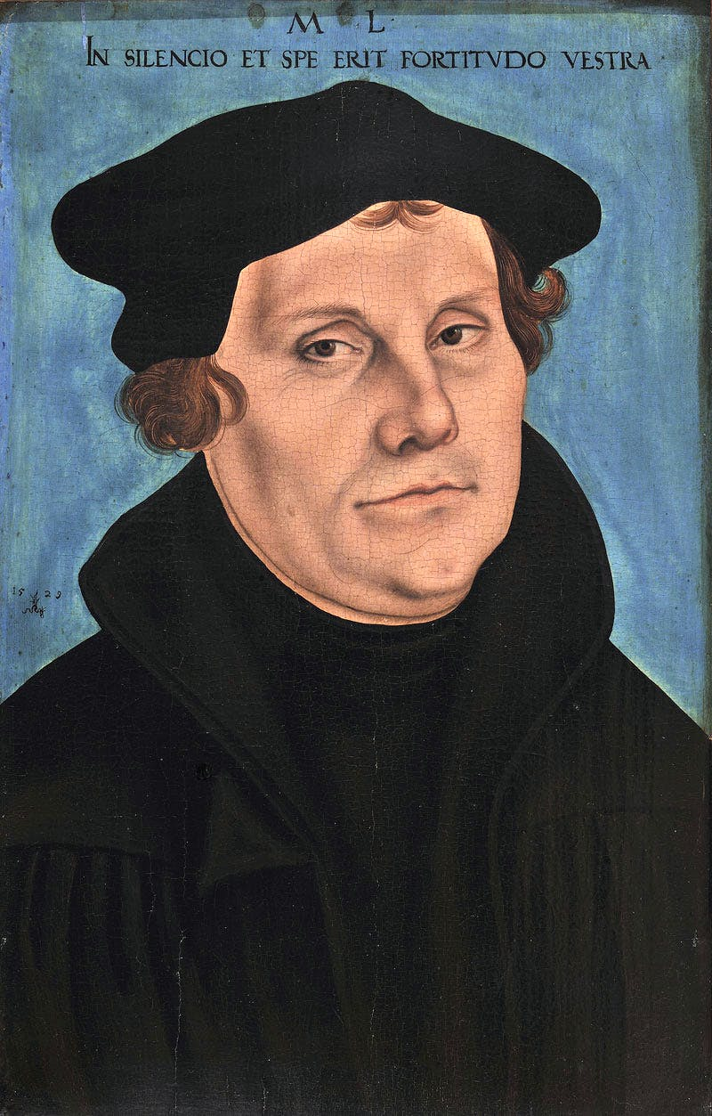 Luther as a Monk