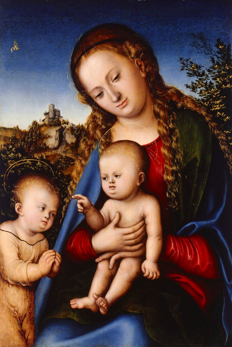 Virgin and Child with St. John as a Boy