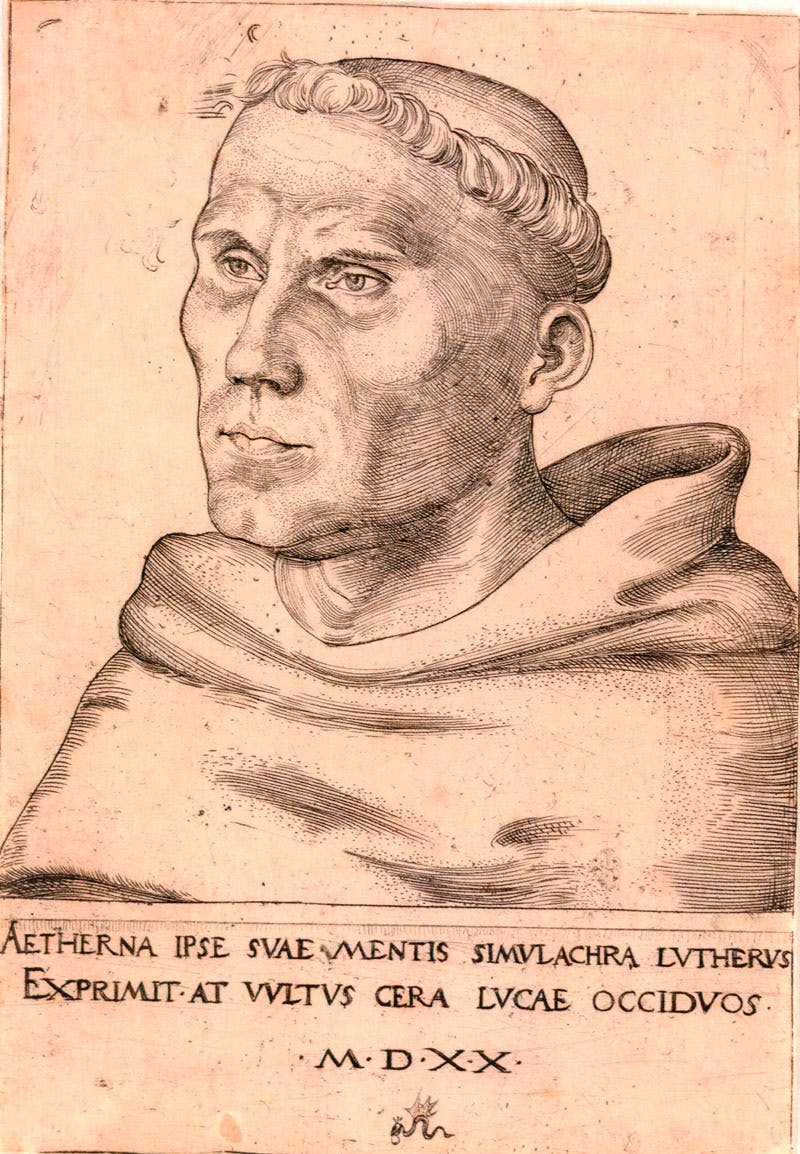 Martin Luther as a Monk