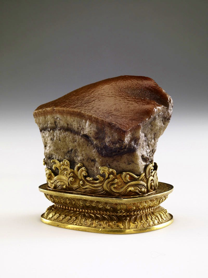 Meat-shaped stone (Qing dynasty: 1644–1911).