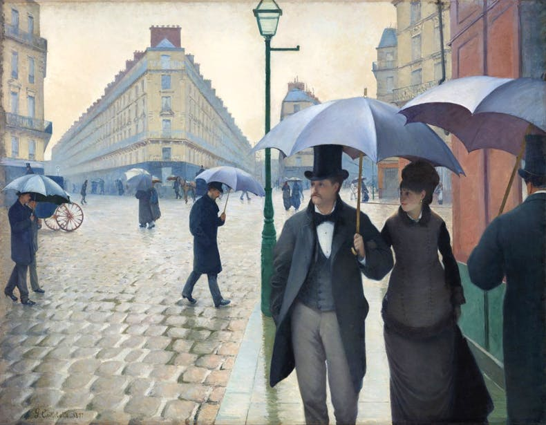 Paris Street: Rainy Day