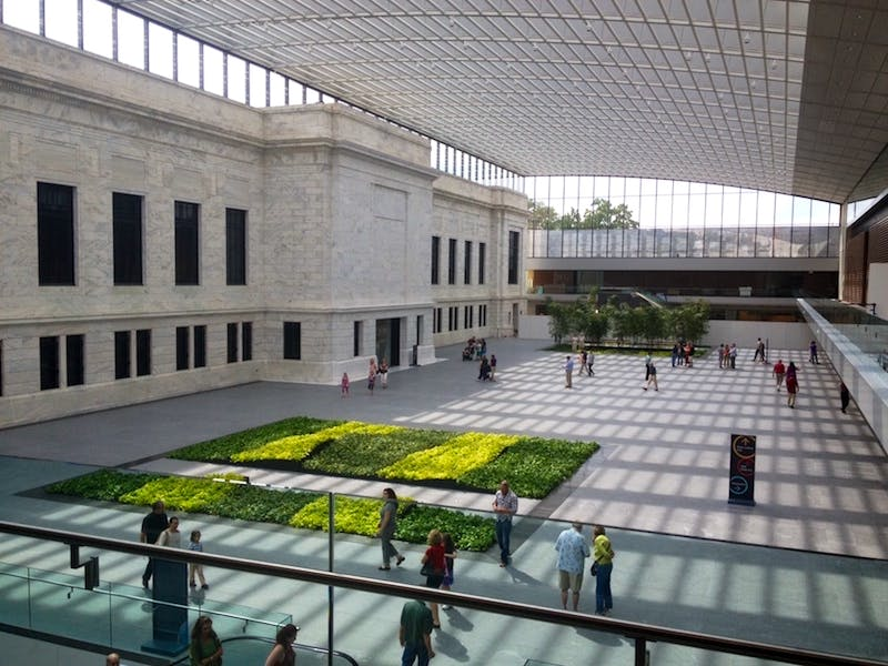 atrium expansion open at the Cleveland Museum of Art in University Circle