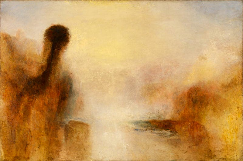 Landscape with water (c. 1840–45), J.M.W. Turner