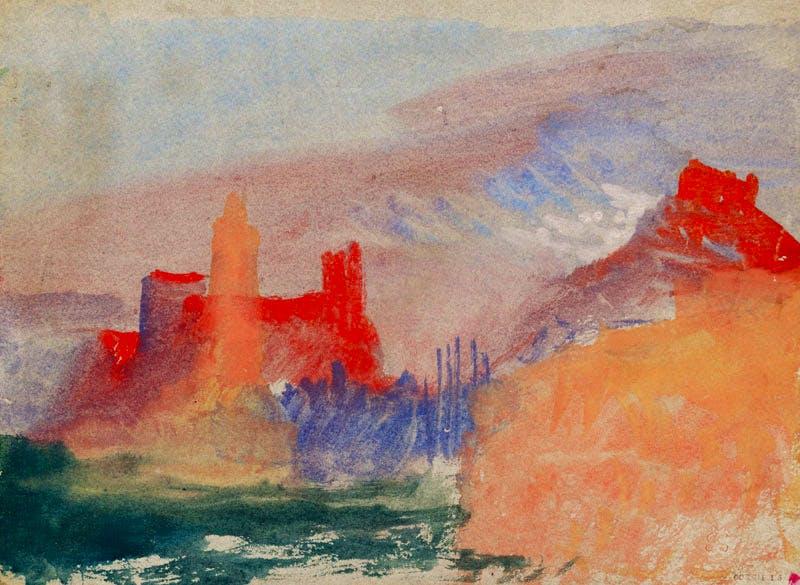 Vermilion Towers (c. 1834), J.M.W. Turner.