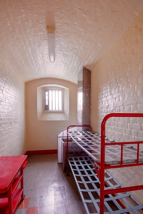 Oscar Wilde's cell at Reading Gaol.