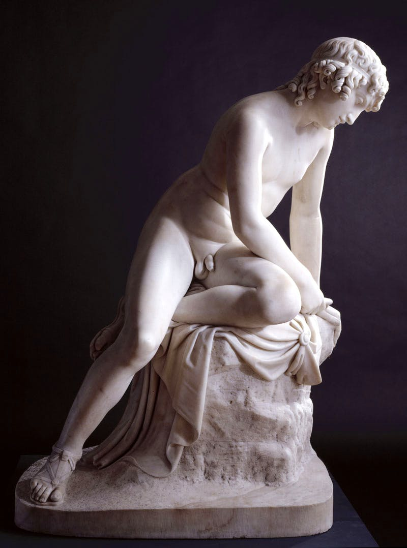 Narcissus (1838), John Gibson. Photo: © Royal Academy of Arts, London.