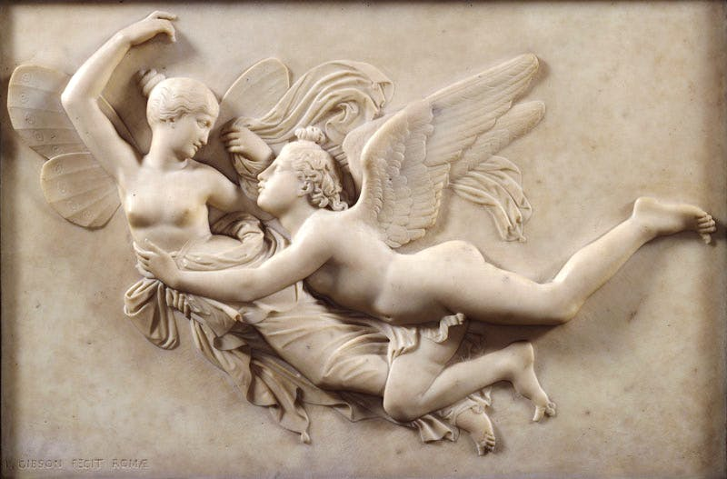 Cupid pursuing Psyche (before 1843), John Gibson. Photo: © Royal Academy of Arts, London