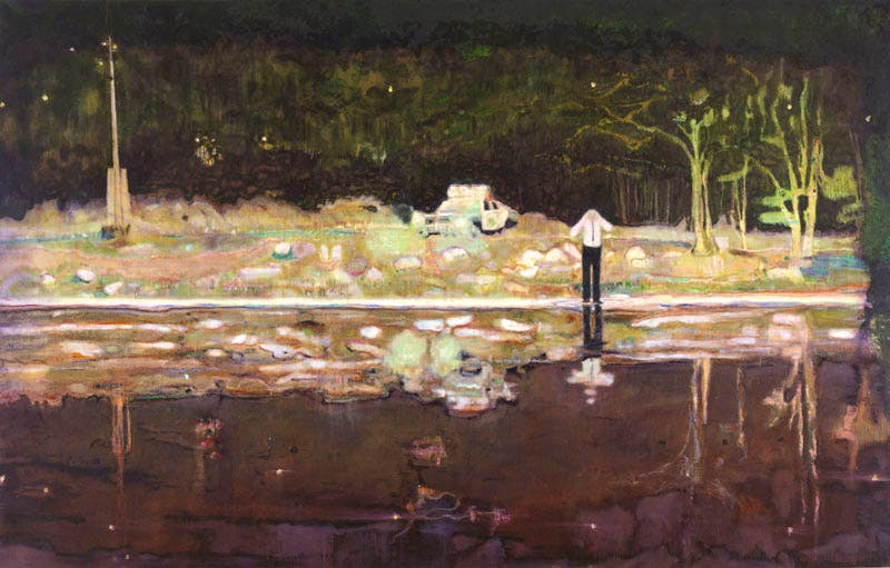 Echo Lake (1998), Peter Doig.