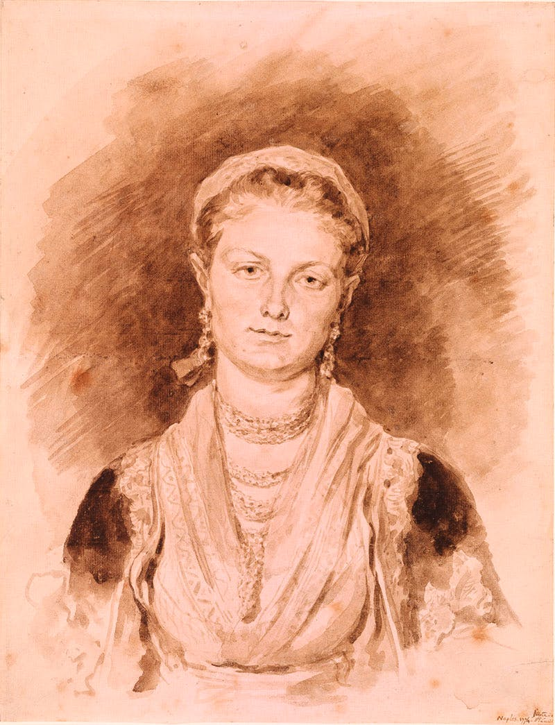 Portrait of a Neapolitan Woman