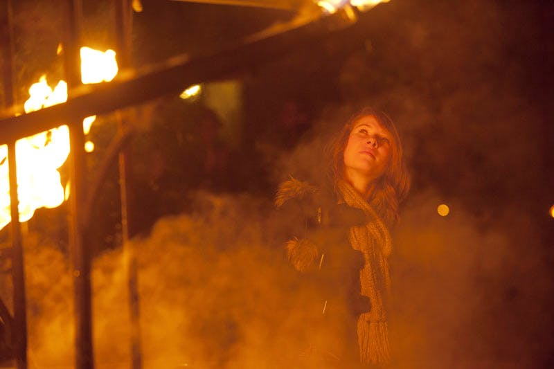 Spirit by Compagnie Carabosse, at Lumiere Durham 2011, produced by Artichoke. Photo: Matthew Andrews