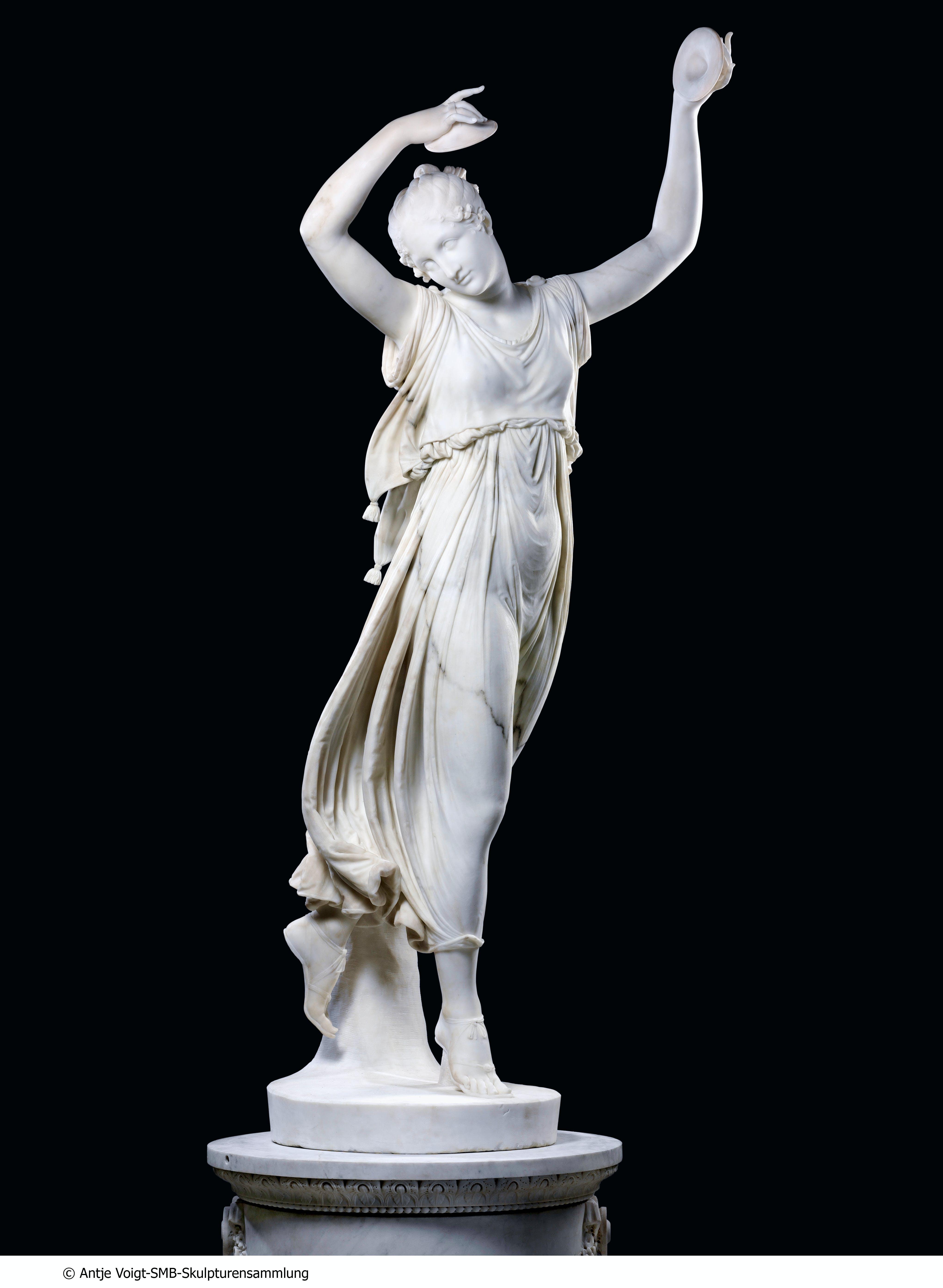 Dancer with cymbals (1809/12), Antonio Canova. © Staatligche Museen zu Berlin, Skulpturensammlung / Antje Voigt