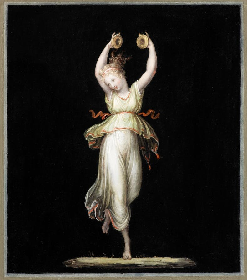 Dancer with cymbals (1799), Antonio Canova. © Museo e Gipsoteca Antonio Canova, Possagno (Treviso)