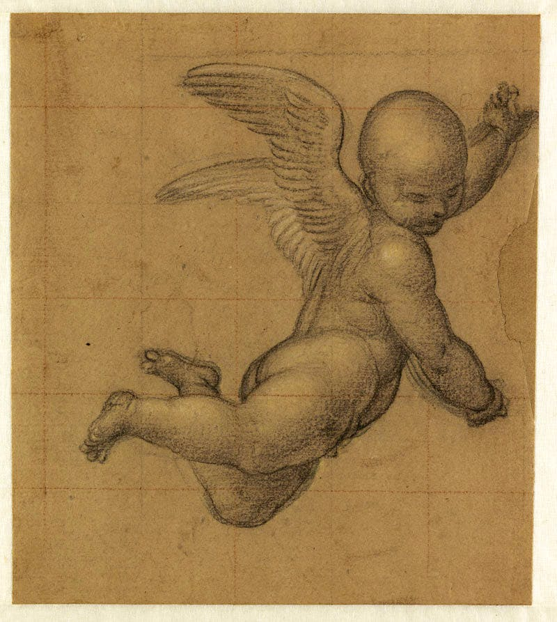 Study for Flying Angel