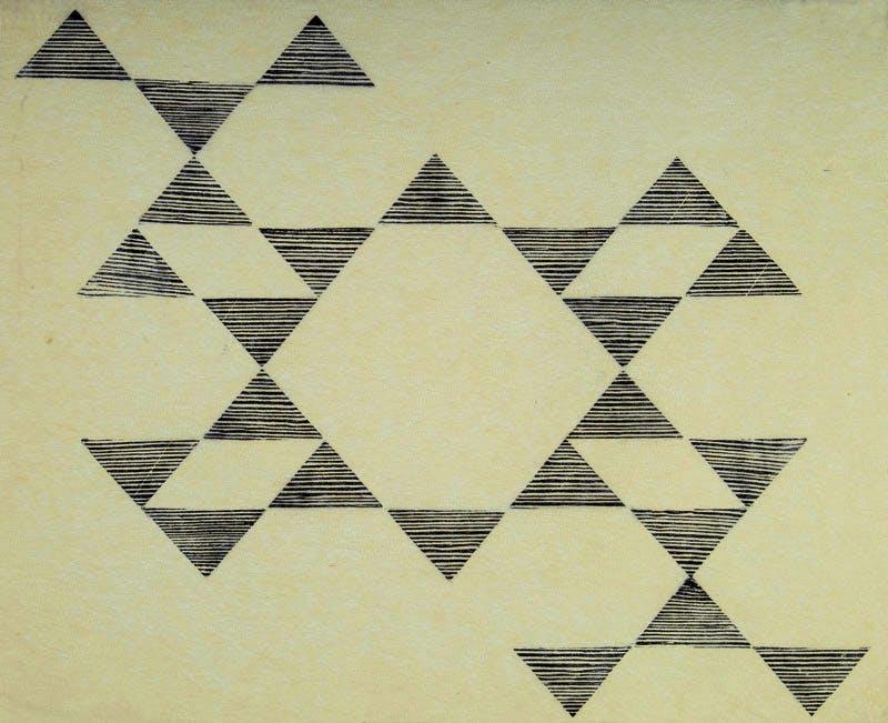 Tecelar (1955), Lygia Pape.
