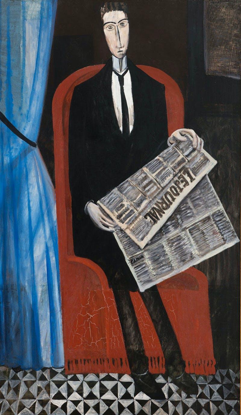 L'Homme au journal (1911–14), André Derain