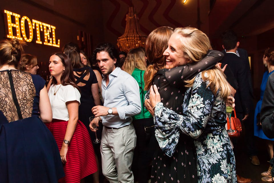 Kit Harington at the Apollo 40 Under 40 party, in association with Sophie Macpherson Ltd.